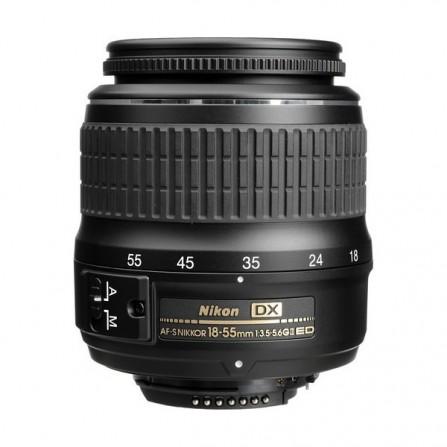 Objectif pour Appareil Photo Nikon AF-S DX NIKKOR 18–55mm f/3.5–5.6G VR II