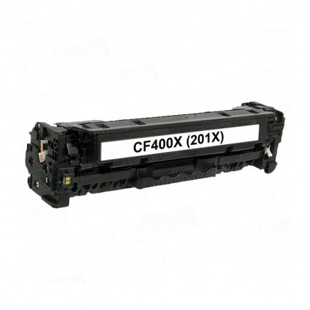 Toner Adaptable HP 201X Noir