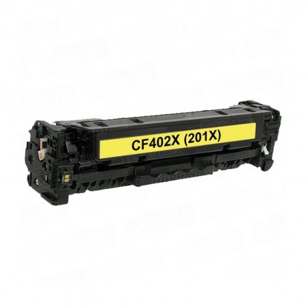 Toner Adaptable HP 201X Yellow