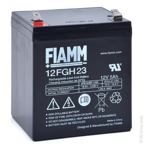 Batterie plomb AGM 12FGH23 12V 5Ah