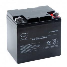 Batterie plomb AGM HR 12V-24Ah FR 12V 24Ah T10