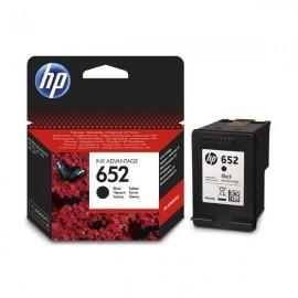 Cartouche jet d'encre HP original F6V25AE pour HP 652 -Noir