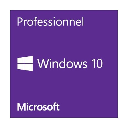 Microsoft Windows 10 Professionnel 64 bits OEM Français