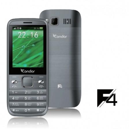 Téléphone Portable Condor F4 / Double SIM / Gris