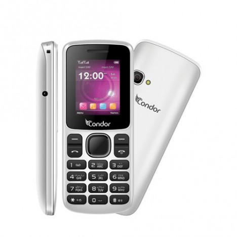 Téléphone Portable Condor F1-MINI / Double SIM / Blanc