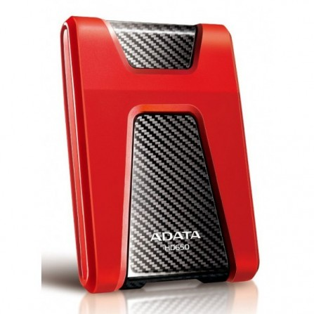 Disque Dur Externe Adata Antichocs HD650 USB 3.0 / 1 To / Rouge