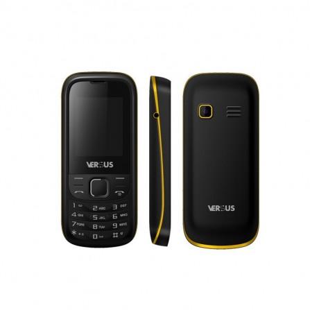 Téléphone Portable Versus Pixou / Double SIM / Noir&Jaune