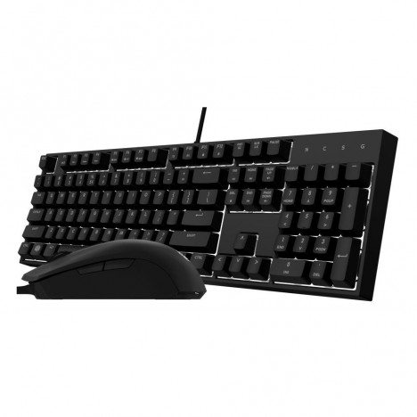 Ensemble Clavier Souris USB Cooler Master Masterkeys Lite L Combo RGB