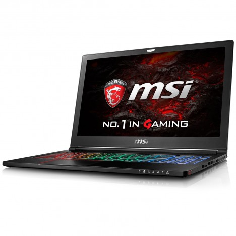 Pc Portable MSI GS63 7RE-014XFR Stealth Pro / i7 7è Gén / 8 Go / GTX 1050Ti 4 Go