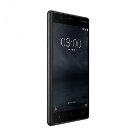 Téléphone Portable Nokia 3 / Noir + Gratuité 55 DT + 1Mois IPTV