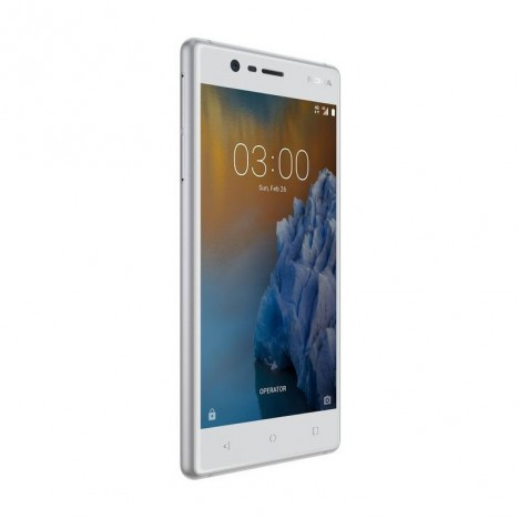 Téléphone Portable Nokia 3 / BLEU + Gratuité 55 DT + 1Mois IPTV