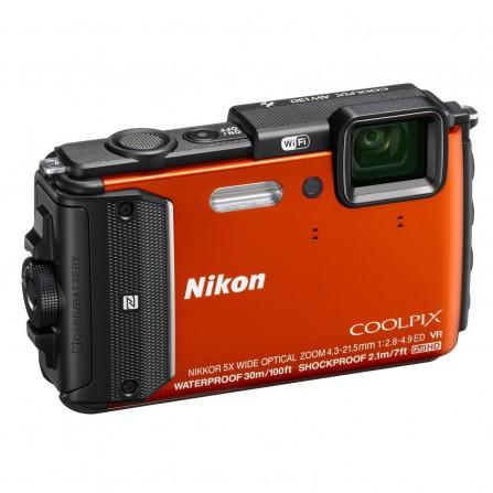 Appareil Photo Nikon Coolpix AW130 Orange VNA842GB