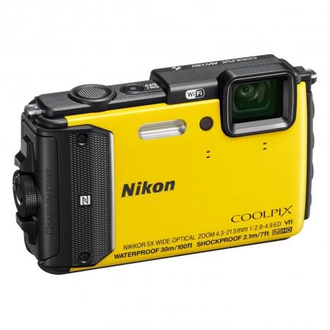 Appareil Photo Nikon Coolpix AW130 / Jaune