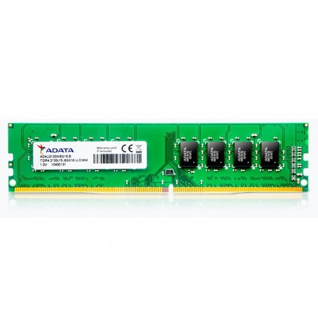 Barrette Mémoire Adata 4 Go DDR4 / 2133 MHz