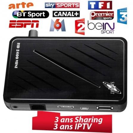 Samsat HD 2400 Mini 2 Ans Sharing + 2 Ans IPTV