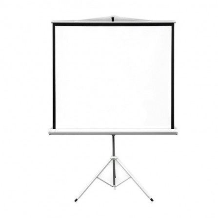 Ecran de projection 2x3 mobile tripied 177X177 cm - Blanc (ETPR1818R/ECO)