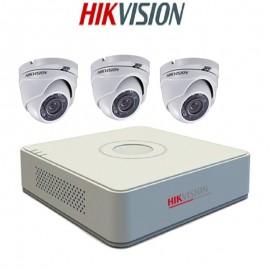 Pack Vidéo Surveillance Hikvision DVR + 3 Caméra Interne