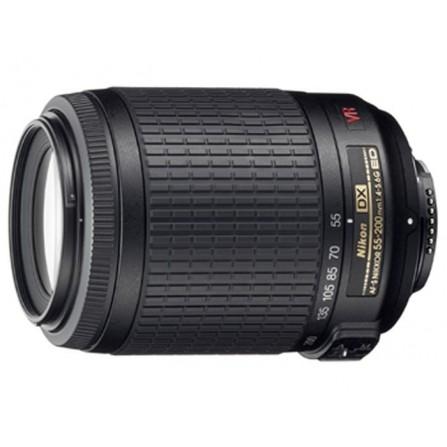 Objectif Pour Appareil Photo Nikon AF-S DX NIKKOR 55-200mm F/4-5.6G ED VR II