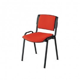 Chaise Visiteur SIGMA Rouge