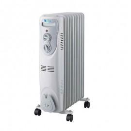 Radiateur bain huile Biolux 11 éléments 2500 Watt - Blanc (RB2502)