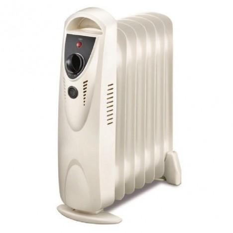 Radiateur à Bain Dhuile Home Carrefour 11 éléments 2500w