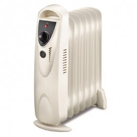 Radiateur à bain d'huile Home Carrefour 11 éléments 2500 Watt - Blanc (RBH-HC-11)