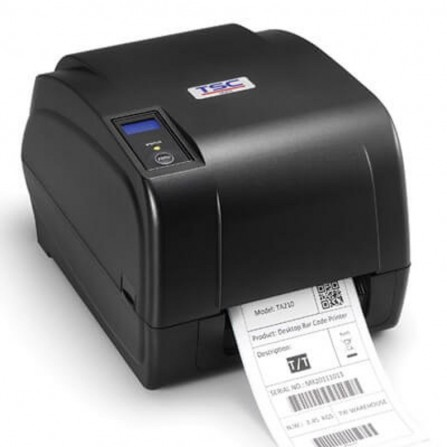 Imprimante Code à Barre de Bureau TSC avec Ruban TA 210 8 Dots/mm