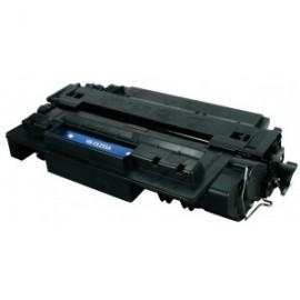 Toner Adaptable HP Laser CE255X Noir