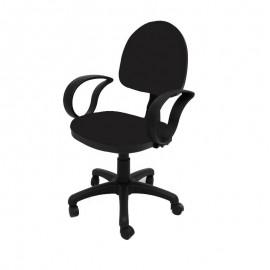 chaise ERGO plus avec accoudoirs / Noir
