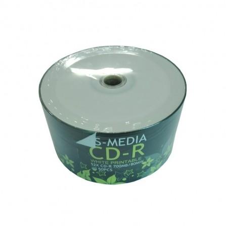 Bobine 50 CD-R 52X 700 MB (CD-R)