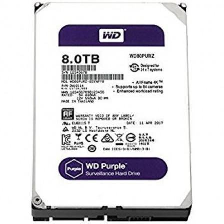 """Disque dur interne 8 TO 3.5"""" pour vidéo surveillance western digital purple"""