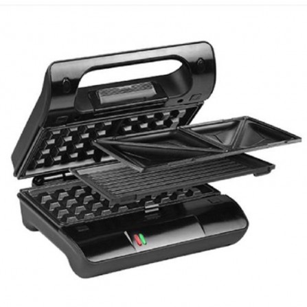 Multi & Sandwich Grill PRINCESS 800W - Noir (117002)