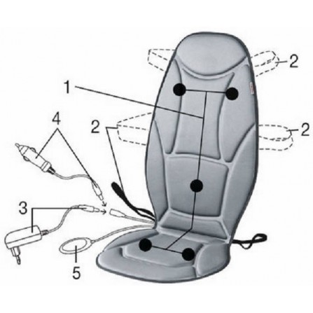 Siège de massage du dos (MG155  )