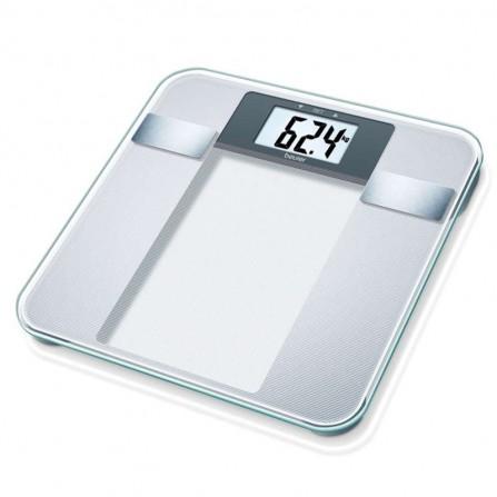 Pèse personne électronique Beurer - Verre (BG13)