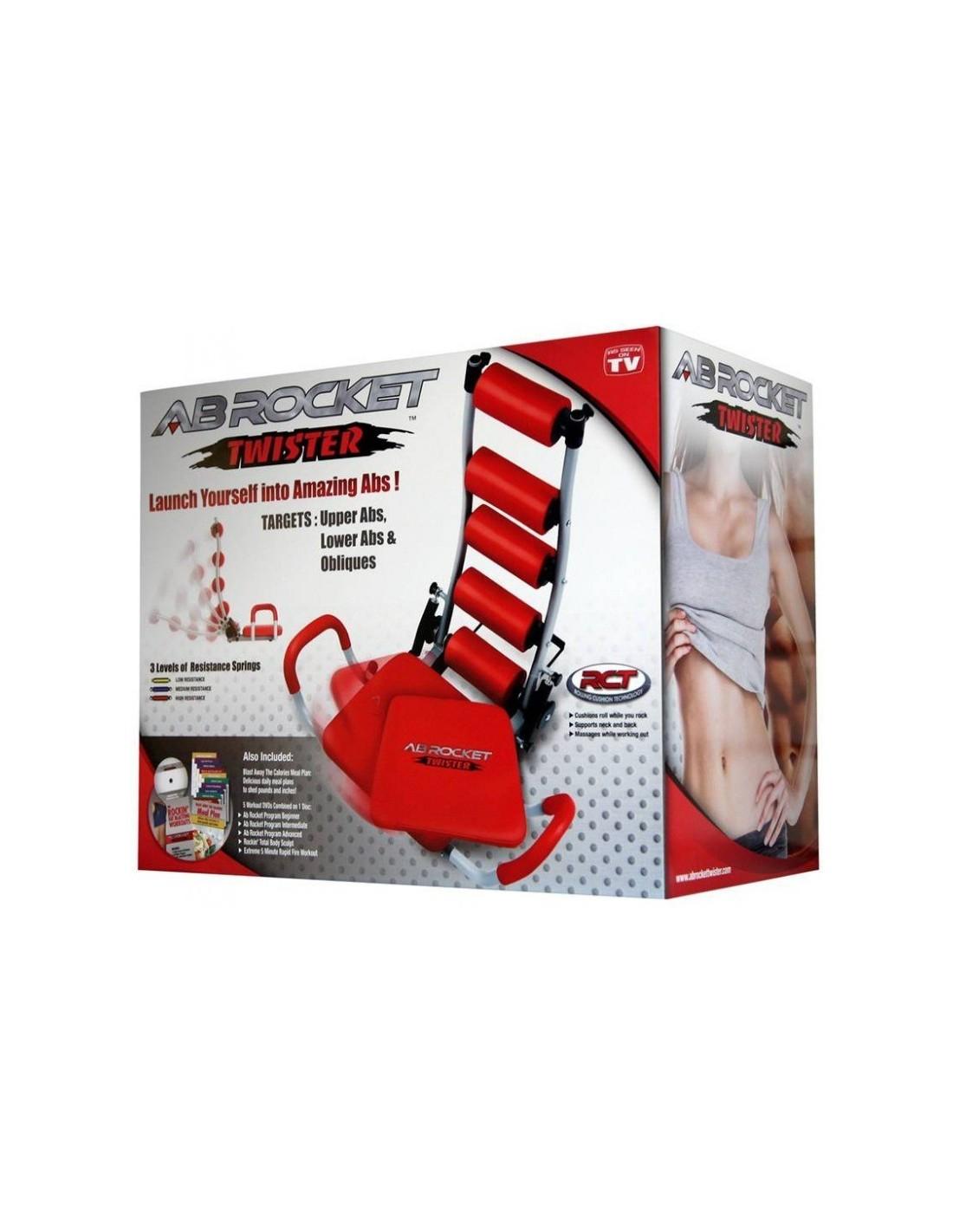 pas cher pour réduction 73917 a682c Prix Appareil de musculation Ab Rocket Twister Tunisie
