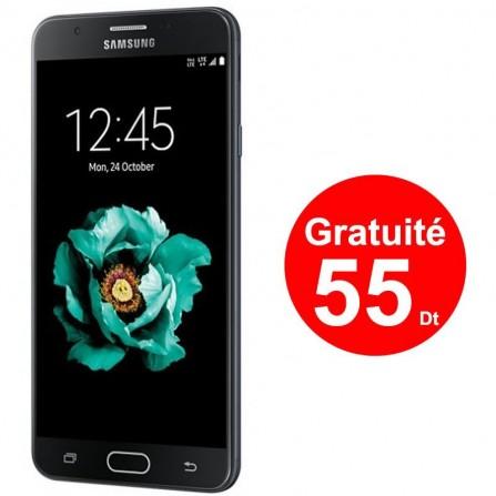 Téléphone Portable Samsung Galaxy J5 Prime / 4G / Noir + 3 Mois IPTV + 55Dt Gratuite