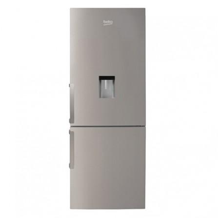 Réfrigérateur combine avec fontaine Beko 365L - Inox (RCNE365K21DX)
