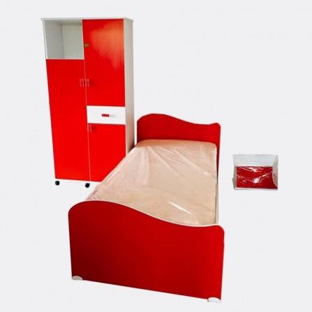 Chambre d'enfant Rouge ch-002
