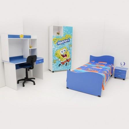 Chambre pour Enfant SpongeBob CH-E002