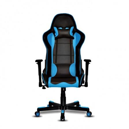 Fauteuil Super Gamer Noir et Bleu