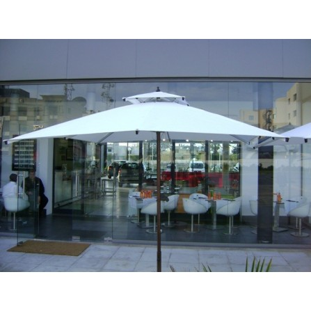 Parasol Carré BLOOMA 8m² P-BLOOMA-C8