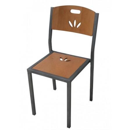 Chaise jardin à kit Bois LUX-1676