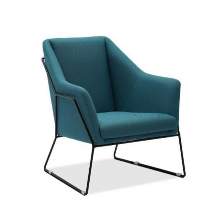 Fauteuil AZZURA Bleu GD-000855-BDR1035B