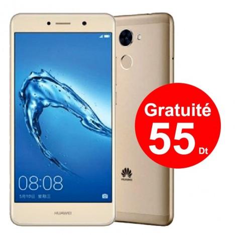 Prix Telephone Portable Huawei Y7 Prime 4g Gold Tunisie Technopro