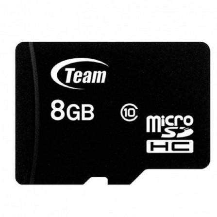 Carte Mémoire TEAM GROUP 8GB Class 10 avec Adaptateur