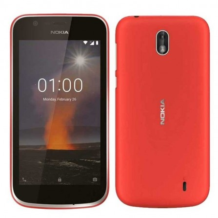 Smartphone NOKIA 1 4G  Rouge BU-NOKIA-1-RED