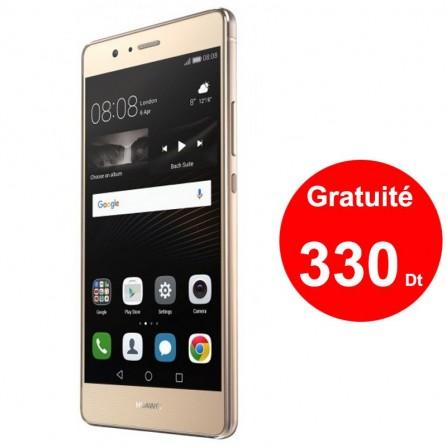 Téléphone Portable Huawei P9 Gold + Gratuité 330 Dt