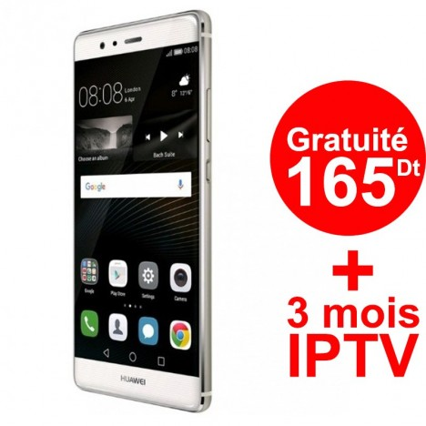 Téléphone Portable Huawei P9 / 4G / Silver