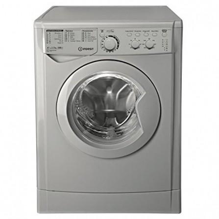 Machine à laver INDESIT 7KG Silver EWC71252SFR
