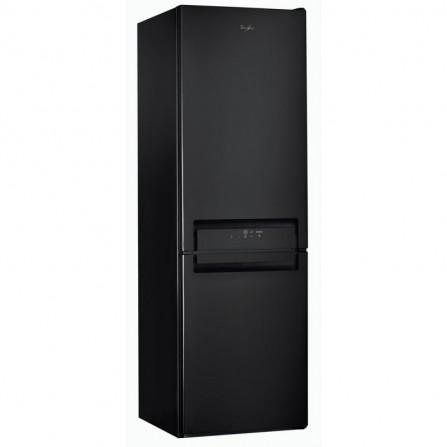 Réfrigérateur combiné Whirlpool No Frost 356L - Noir (BSNF8893PB)